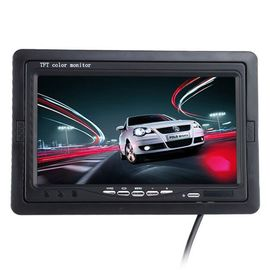 "7"" HD Car Rear View Camera Monitor , Rear View Camera Screen Built In Speaker"
