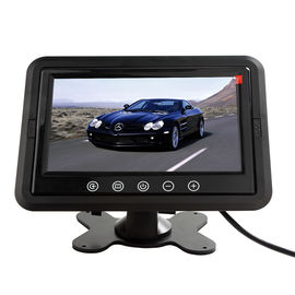 Industrial Rear View Camera Monitor TFT Panel Type 350cd/m² High Brightness